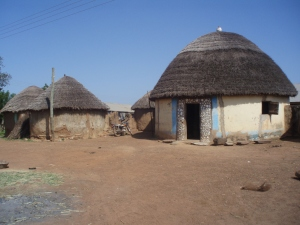 Traditional Dagomba house.