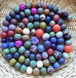 Krobo beads, Ghana West Africa.